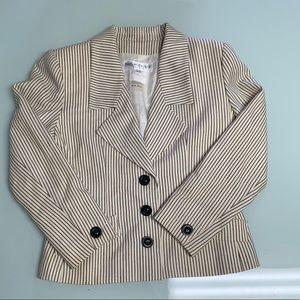 YSL vintage pin striped blazer